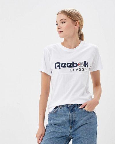 Белая футболка Reebok Classics