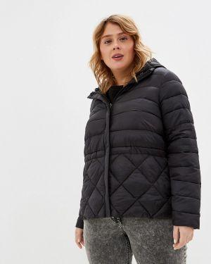 Утепленная куртка демисезонная черная Acasta