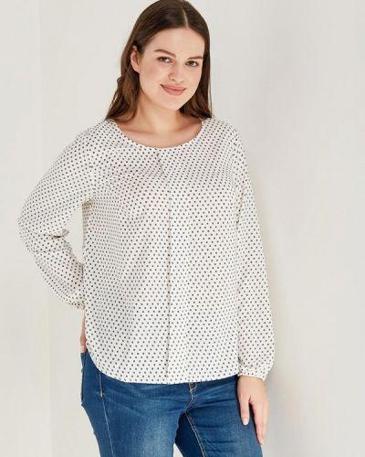 Блузка белая осенняя Darissa Fashion