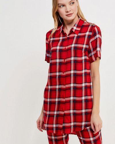 Красная рубашка домашняя Mia Mia