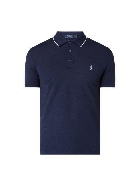 Bawełna bawełna niebieski t-shirt krótkie rękawy Polo Ralph Lauren