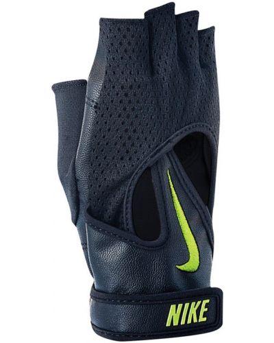 Кожаные перчатки для фитнеса нейлоновые Nike