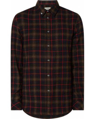 Koszula bawełniana z długimi rękawami w kratę Zadig & Voltaire