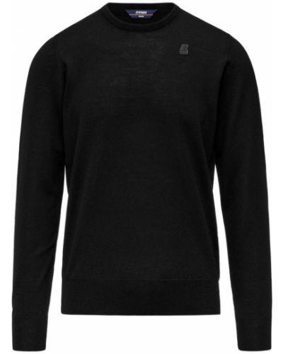 Czarny sweter K-way