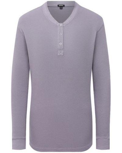 Хлопковый пуловер - фиолетовый Monrow