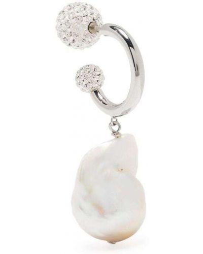 Kolczyki perły srebrne Saf Safu