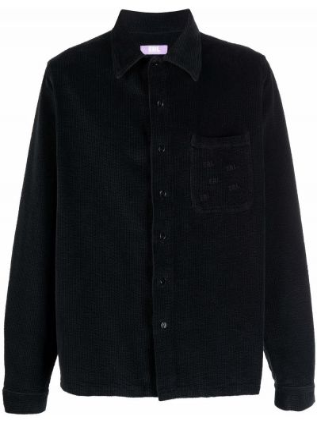 Czarna klasyczna koszula Erl
