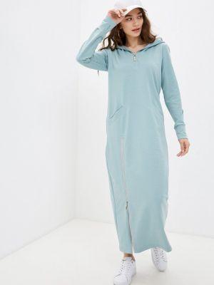 Бирюзовое платье Duckystyle