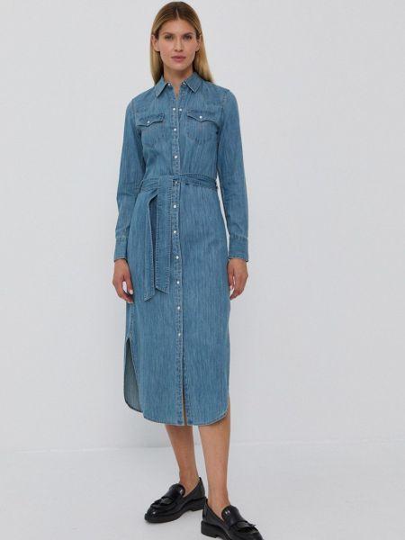Джинсовое платье Lauren Ralph Lauren