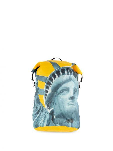 Żółty plecak miejski klamry Supreme