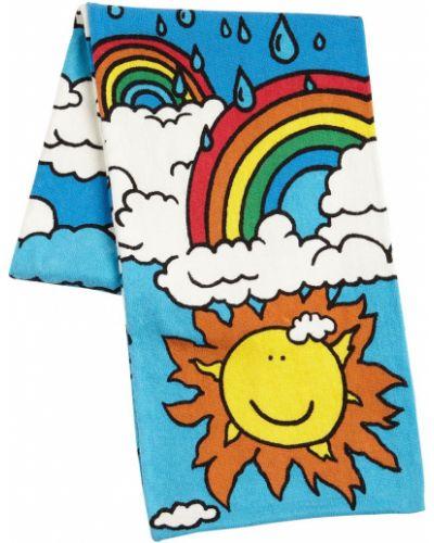 Niebieski bawełna bawełna szalik Stella Mccartney Kids