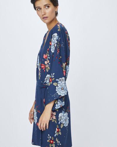 Платье мини прямое из полиэстера Pepe Jeans