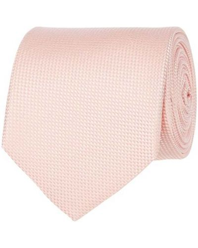 Klasyczny krawat - różowy Blick