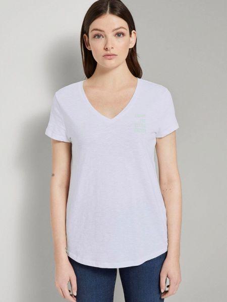 Джинсовая футболка Tom Tailor Denim