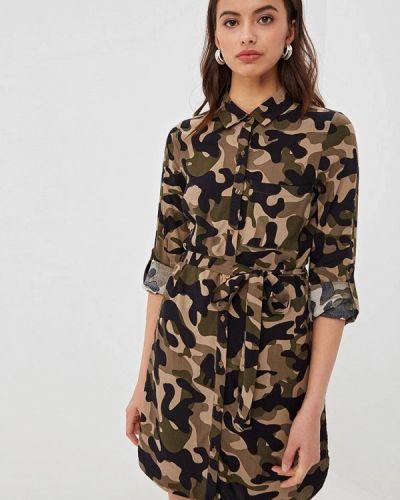 Платье платье-рубашка весеннее Jennyfer