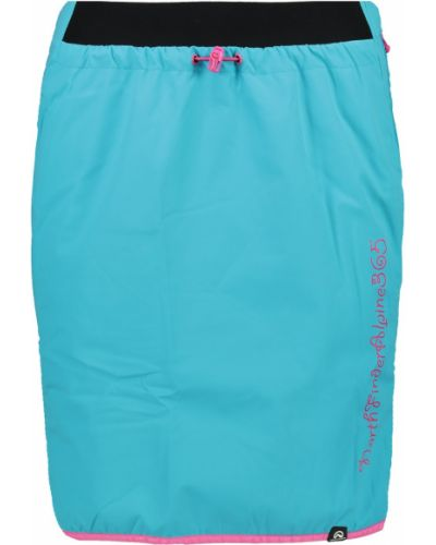 Ciepła niebieska spódnica materiałowa Northfinder