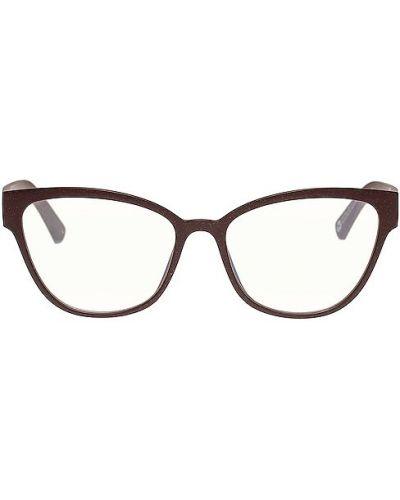 Niebieskie okulary materiałowe The Book Club