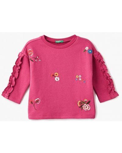 Розовая толстовка United Colors Of Benetton