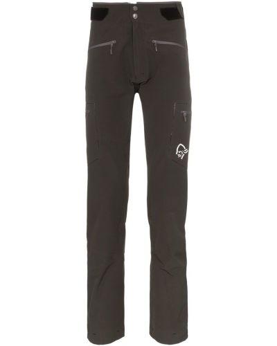 Спортивные брюки с карманами на молнии Norrona