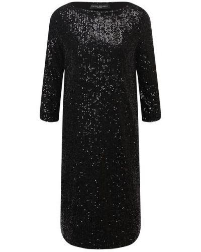 Платье с пайетками с подкладкой из вискозы Pietro Brunelli