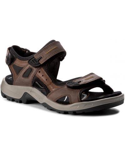 Sandały skórzany czarny Ecco
