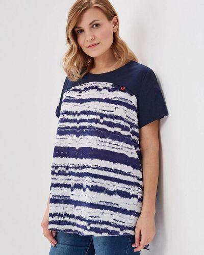 Синяя блузка Silver String