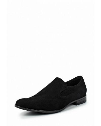 Черные туфли замшевые Salamander