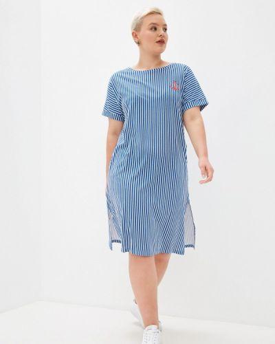 Синее платье летнее Winzor