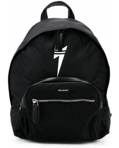 Рюкзак черный Neil Barrett Kids