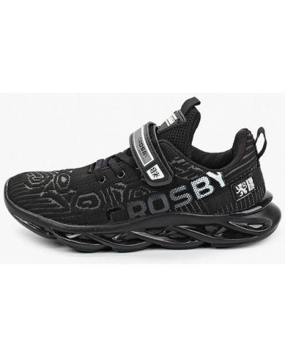 Кожаные черные кроссовки Crosby