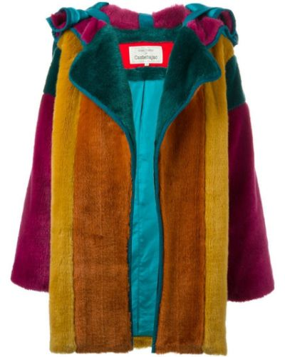 Длинное пальто с капюшоном Jc De Castelbajac Pre-owned