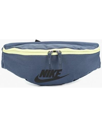 Синяя поясная сумка Nike