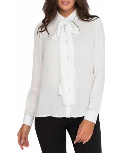 Блузка из вискозы - белая Gloss