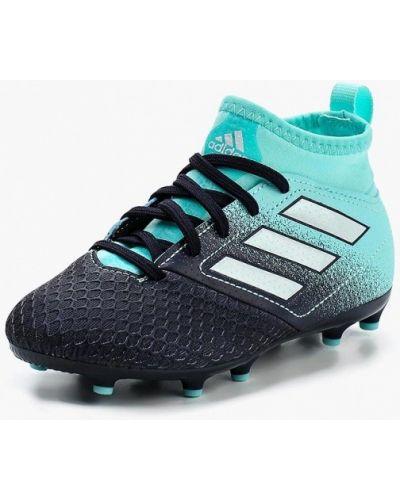 Бутсы кожаные Adidas