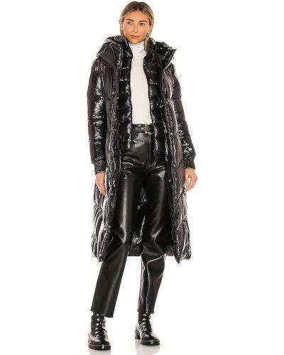 Черная куртка с капюшоном на молнии Soia & Kyo