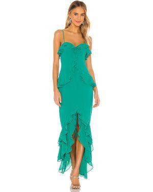 Sukienka z suwakiem zielona Lovers + Friends
