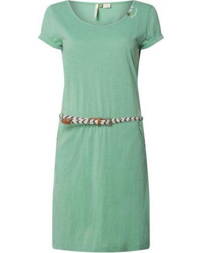 Zielona sukienka bawełniana Ragwear