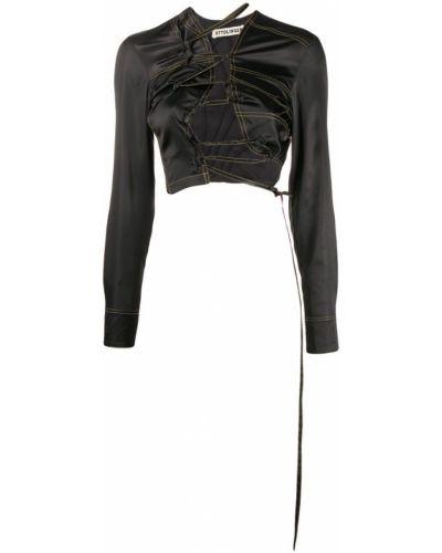 Черная рубашка Ottolinger