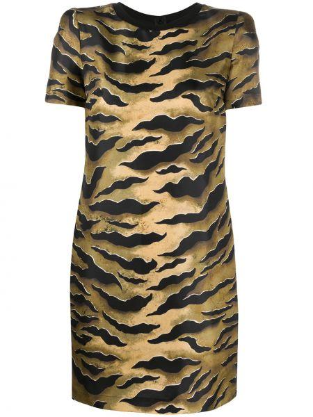 Платье мини на молнии трапеция Dsquared2