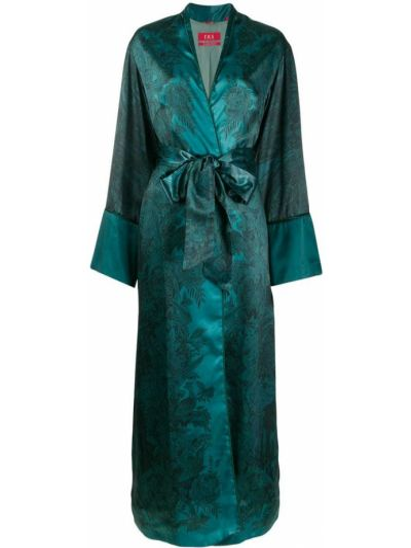 Синее длинное пальто F.r.s For Restless Sleepers