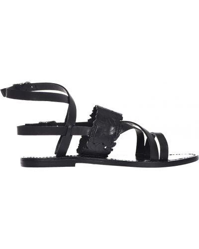 Черные сандалии Twin-set