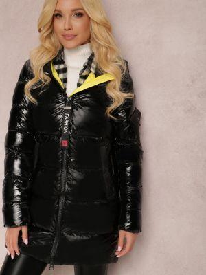 Czarna kurtka materiałowa Renee