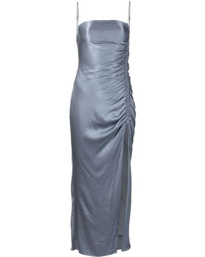 Синее платье из вискозы Shona Joy