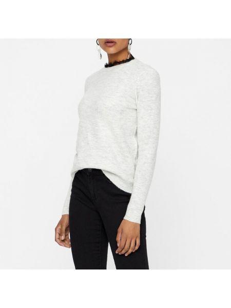 Пуловер с воротником-стойкой шерстяной Vero Moda