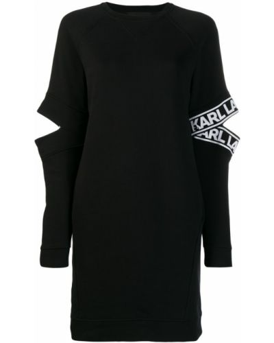 Облегающее платье с рукавом реглан Karl Lagerfeld