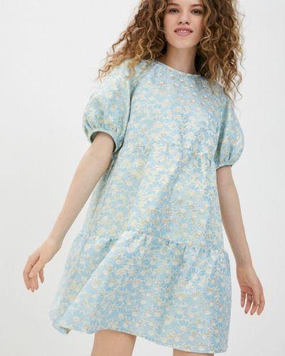 Прямое платье А-силуэта Ichi