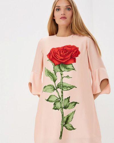 Платье прямое осеннее Лярго