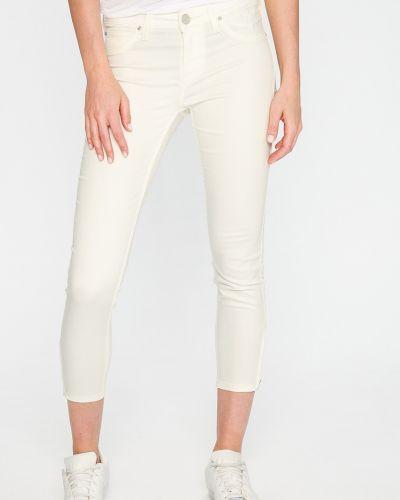 Белые джинсы-скинни Lee