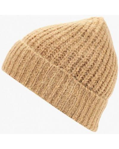 Бежевая шапка осенняя Marks & Spencer