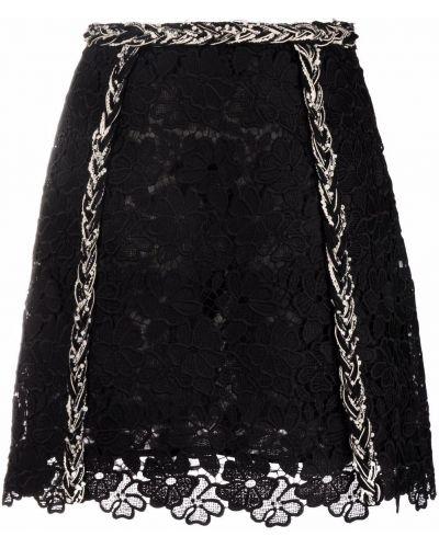 Черная юбка расклешенная Giambattista Valli